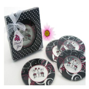 Set 4 Posavasos Chic