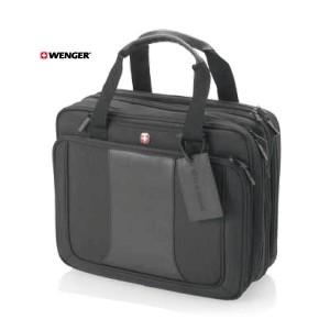 """Security friendly triple compartment 15.4"""" laptop bag"""