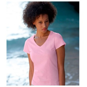 Camiseta Value Weight mujer cuello V