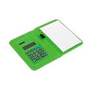 Mini Portafolio con Libreta y Calculadora