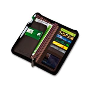 Chequera porta tarjetas y documentos viaje