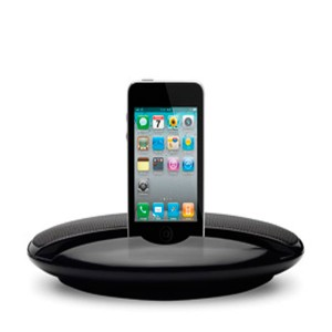 Altavoz estéreo compatible iPod® e Ipad®