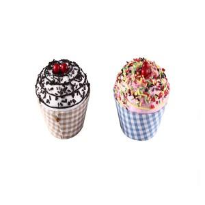 "Cajitas en forma de tarrina de helado ""Cupcake"""
