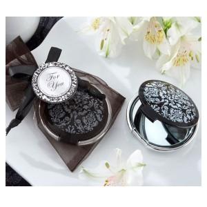 Espejo metálico Black Glam
