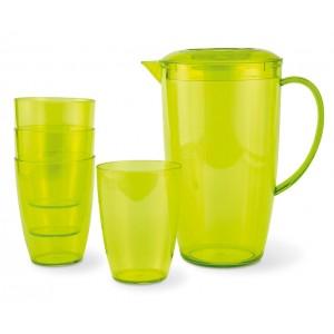 Jarra con 4 vasos